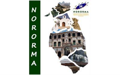 Neico, en el departamento de Comunicación de la ADR-Nororma